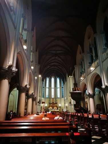 Christian Catherdral in Jakarta, Indonesia