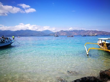 Gili Air, harbor view