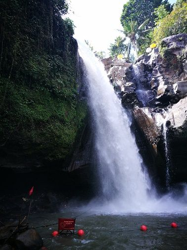 Tegenungan waterfall in Bali, Indonesia