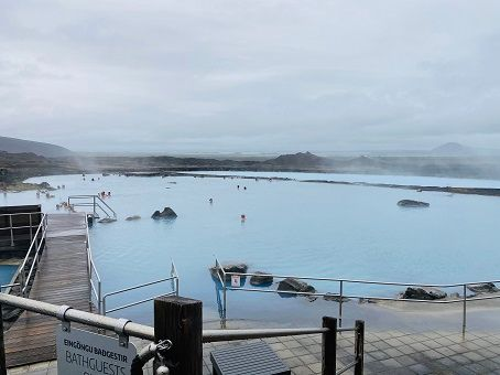 Pool in Myvatn Nature baths
