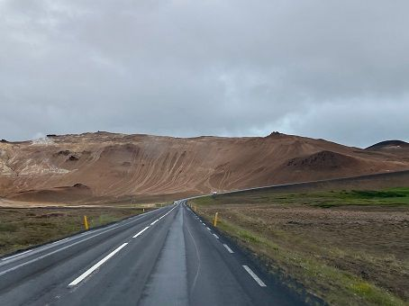 Northern Iceland view from the Ring Road