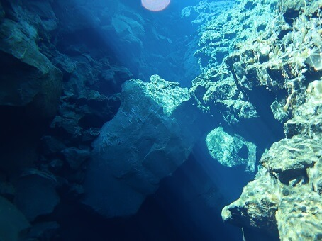 Visibility you can enjoy while snorkeling in SIlfra